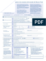 Spanish Vote Form