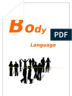 project on body language
