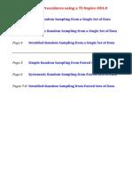 Statistical Sampling Using TI-Nspire