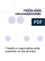 Psicologia+Organizacional- objetivos