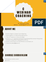 Instructor Led C Online Webinar Session - 2.pdf
