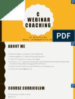 Instructor Led C Online Webinar Session - 3.pdf