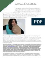 Panico De La Ansiedad Y Ataque De Ansiedad De Las Influencias