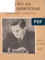 248994924 146438080 Manual de Aperturas Abiertas Paul Keres PDF