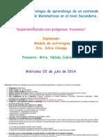 Estrategia Matematicas Polígonos