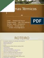 SistTermicos1-CAP0 Introdução Rev
