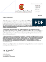 recommendation letter for ra