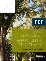 Edmonton's Green Annual Report 2013