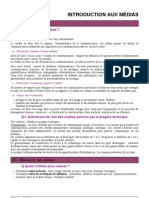 Introduction aux Médias