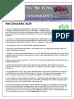 New Rules Top 10 - TTW 151002