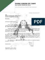 Carta De Donacion.