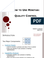 How to Use Minitab 2 Quality Control