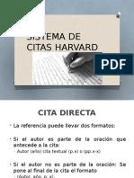 Sistema de Citas Harvard