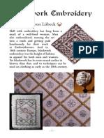 Blackwork Embroidery Booklet v2
