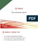 Qt Basics GKO 2010