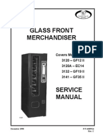 Wittern USI 3132 Glass Front Merchandiser Manual