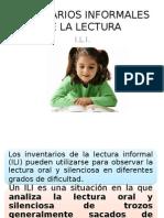 Inventarios informales de Lectura