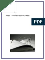 Trabajo Psicologia Clinica y de La Salud I