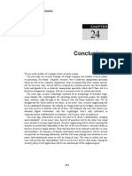SE-Chapter 24 - Conclutions
