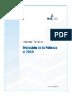 INEI Mapa_pobreza_2009 - Technical Summary
