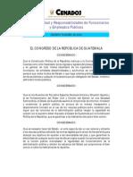 Decreto 89-2002 Ley de Probidad y Responsabilidad