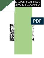 Rotula Plastica Y Mecanismo de Colapso DISEÑO DE ACERO