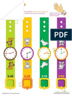 Telling Time Play Watches 2