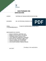 Plan de Monitoreo y Acompañamiento Miguel Grau. REVISADO