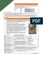 CompTIA A+ Certification Core Hardware CHEATSHEET