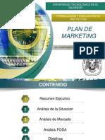 PRESENTACIÓN CLASES Contenido Del Plan Marketing
