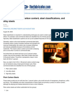 thefabricator com-metallurgy matters carbon content steel classifications and alloy steels