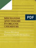 Mekanisme dan Teori Kimia Organik
