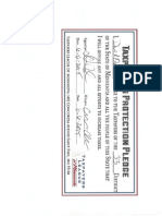 MN Sen. Dave Osmek R- SD 33 Taxpayer Protection Pledge
