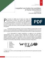 Aprender Español Con Todos Los Sentidos_el Factor Kinestésico