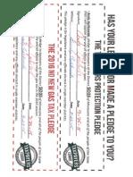 Andy Aplikowski No New Taxes Pledge & 2015 Gas Tax pledge