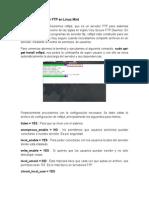 Instalacion Servidor FTP en Linux Mint