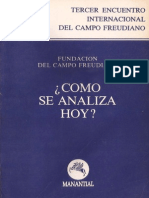 Como se analiza hoy- Fundacion Campo Freudiano.pdf