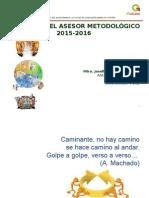 PROYECTO DE TRABAJO DEL ASESOR METODOLOGICO 2012-2013.ppt