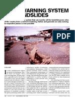 Landslide Monitoring Device