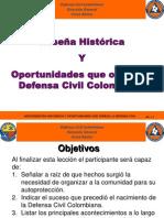 AV 2 Reseña Históricos y Oportunidades Que Ofrece a Defensa Civil
