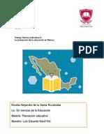 Planeacion educativa en Mexico