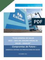 Plan General de Salud 2015-2021