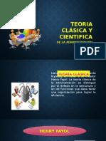 Teoria Clasica y Cientifica de La Administracion