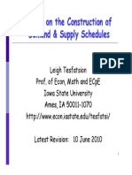 Demand and Supply Example