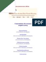 Olavo de Carvalho_Artigos_2005_Comentários Da Semana