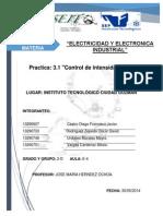 Practica 3.1 Control de Intensidad