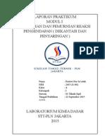 Cover Laporan Praktikum Kimia