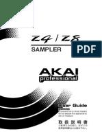 Akai Z4-8 Manual