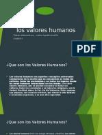 Los Valores Humanos.mateo