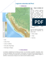 Las 8 Regiones naturales del Perú - Javier Pulgar Vidal